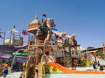 Parque da água de RaMaYaNa, recreação nova em Pattaya, Tailândia imagens de stock