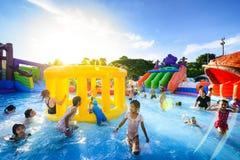 Parque da água de Robinson fotos de stock royalty free