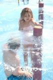 Parque da água do verão fotografia de stock