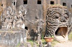 Parque da Buda em Laos Imagem de Stock Royalty Free