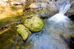 Parque da cachoeira da floresta de Sra Nang Manora Phangnga Nation imagem de stock royalty free