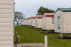 Parque da caravana de Porthcawl Fotografia de Stock Royalty Free