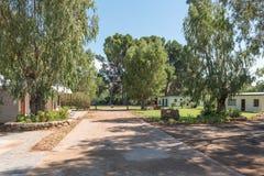 Parque da caravana em Willowmore Imagem de Stock Royalty Free