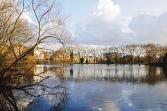 Parque da charneca de Hampstead Imagens de Stock