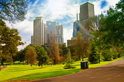 Parque da cidade Imagem de Stock