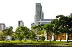 Parque da cidade de Sathorn fotos de stock
