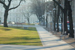 Parque da cidade de Viena Fotos de Stock