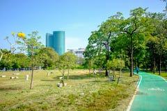 Parque da cidade em Vachira Benchathat Park (podridão Fai Park) Foto de Stock Royalty Free