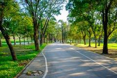 Parque da cidade em Vachira Benchathat Park & em x28; Podridão Fai Park & x29; Fotografia de Stock