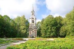 Parque da cidade, Ostashkov, região de Tver fotos de stock royalty free