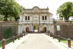 Parque da citadela em Parma fotos de stock