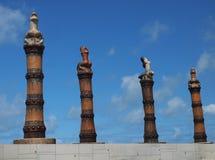 Parque da escultura foto de stock royalty free
