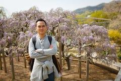 Parque da flor de Ashikaga em Japão Imagens de Stock Royalty Free