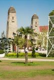 Parque da flor em Grozny Fotografia de Stock Royalty Free