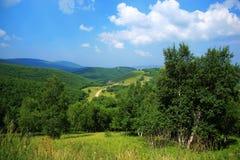 Parque da floresta nacional de Huanggangliang Foto de Stock Royalty Free