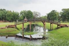 Parque da herança de Ayutthaya Foto de Stock Royalty Free