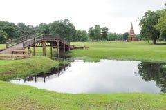 Parque da herança de Ayutthaya Fotografia de Stock Royalty Free