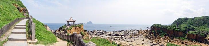 Parque da ilha de Heping, TW Imagem de Stock Royalty Free