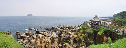 Parque da ilha de Heping, TW Fotos de Stock Royalty Free