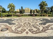 Parque da independência e Museu Paulista da universidade de Sao Paulo foto de stock royalty free