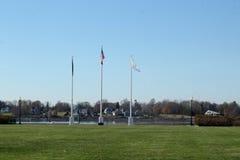 Parque da independência em Bristol Rhode Island imagens de stock royalty free