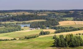 Parque da paisagem de Suwalki, Polônia Fotografia de Stock
