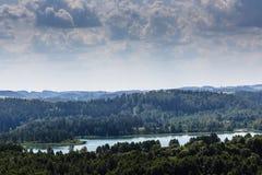 Parque da paisagem de Suwalki, Polônia Fotos de Stock Royalty Free