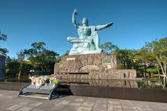 Parque da paz, Nagasaki, Japão Fotografia de Stock