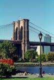 Parque da ponte de Brooklyn Foto de Stock Royalty Free