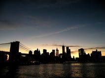 Parque da ponte de Brooklyn foto de stock
