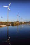 Parque da potência de Eco Imagens de Stock