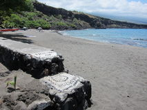 Parque da praia da ilha fotografia de stock