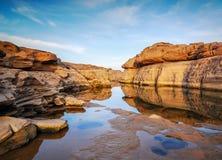 Parque da rocha de 3000 Boke Fotos de Stock Royalty Free