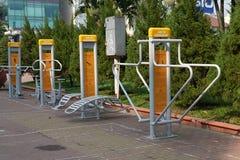 Parque da saúde com o gym livre para esportes Imagens de Stock Royalty Free