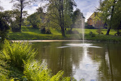 Parque Dahlen do palácio Foto de Stock