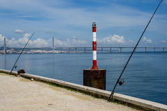 Parque das Nacoes in Lisbon, Portugal Stock Images