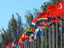 Parque DAS Nacoes ou parc des nations Lisbonne Portugal image libre de droits