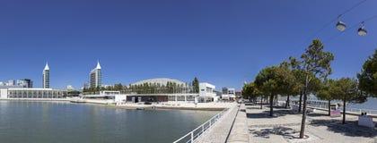 Parque das Nacoes, park narody/- Lisbon Obrazy Stock