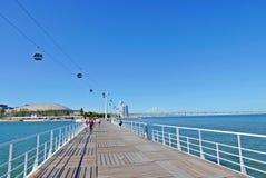 Parque das Nacoes. / Park of Nations - Lisbon Stock Photo