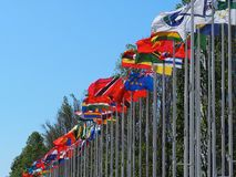 Parque Das Nacoes Or Park Of Nations Lisbon POrtugal stock photography