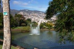 Parque de Санта-Катарина, Фуншал, Мадейра стоковые изображения