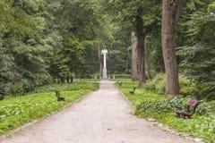 Parque de Alexandria - Bila Tserkva, Ucrânia. Imagem de Stock Royalty Free