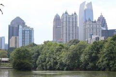 Parque de Atlanta Foto de archivo libre de regalías