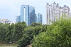 Parque de Atlanta Imagen de archivo libre de regalías