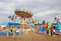Parque de atracciones Fotografía de archivo libre de regalías