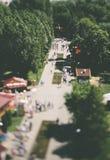 Parque de atracciones Imágenes de archivo libres de regalías