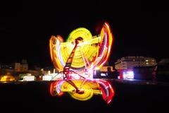 Parque de atracciones Foto de archivo libre de regalías