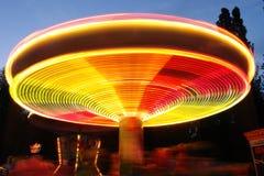 Parque de atracciones, atracción Imagenes de archivo