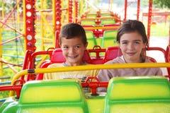 Parque de atracciones de los niños Fotografía de archivo