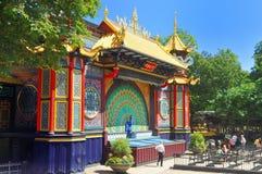 Parque de atracciones de Tivoli Fotografía de archivo